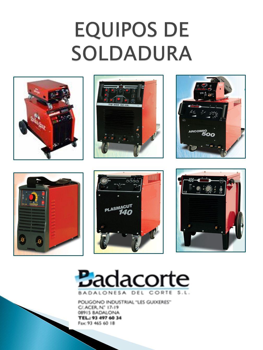 EQUIPOS DE SOLDADURA