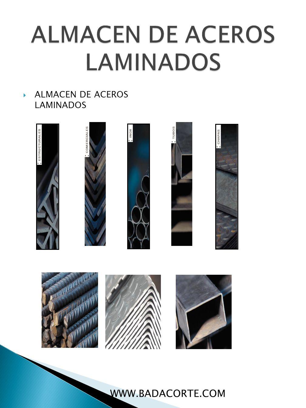 ALMACEN DE ACEROS LAMINADOS