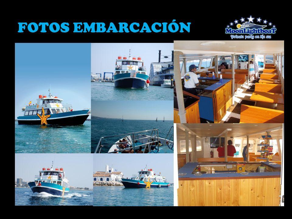 FOTOS EMBARCACIÓN