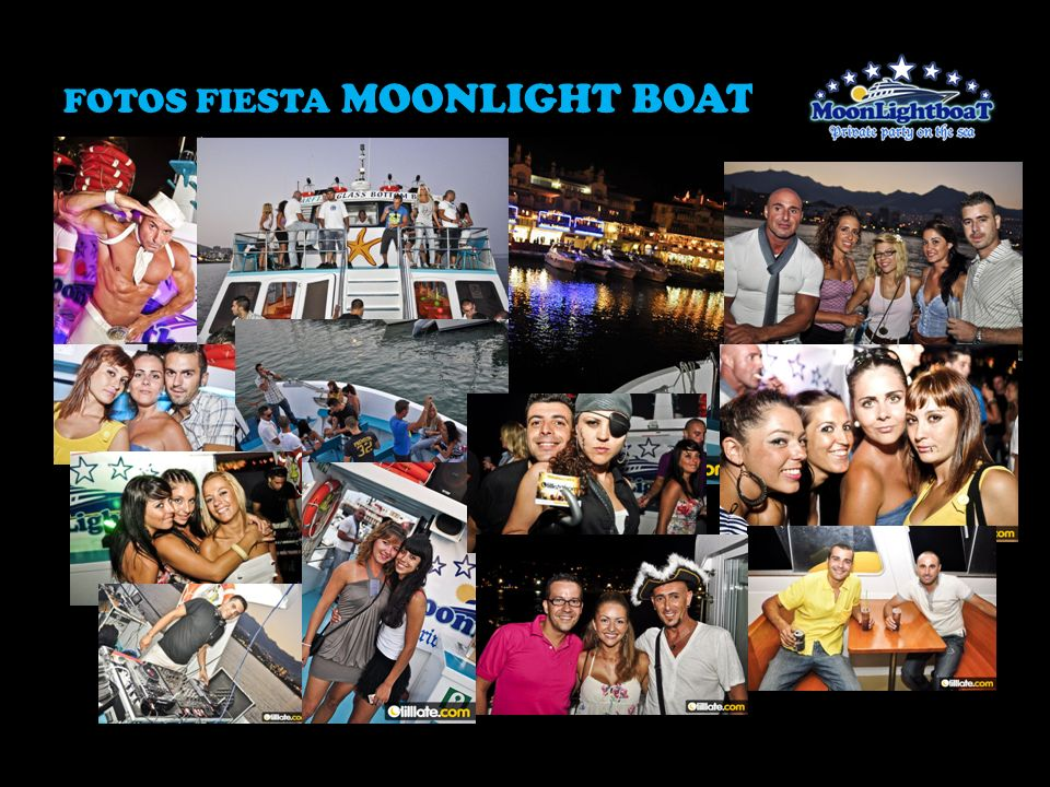 FOTOS FIESTA MOONLIGHT BOAT