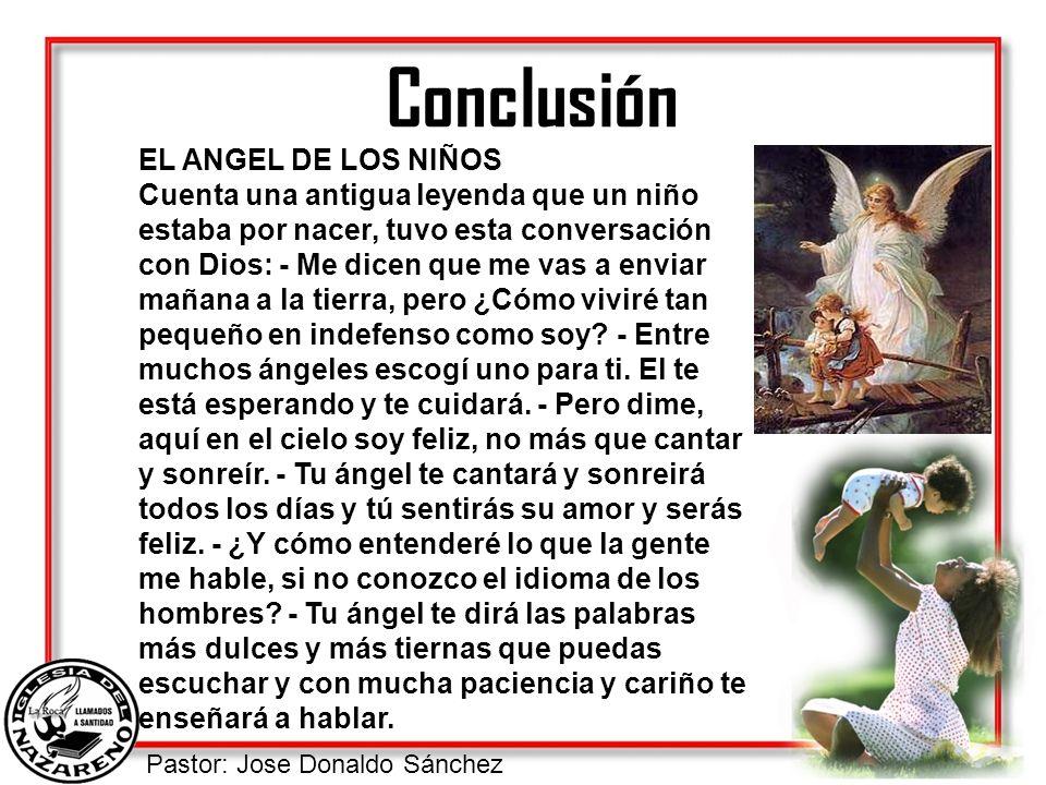 Conclusión EL ANGEL DE LOS NIÑOS