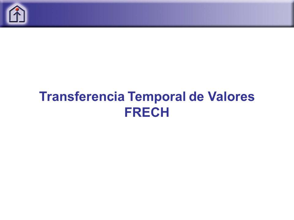 Transferencia Temporal de Valores FRECH