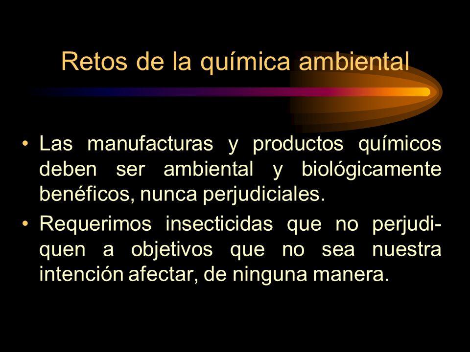 Retos de la química ambiental