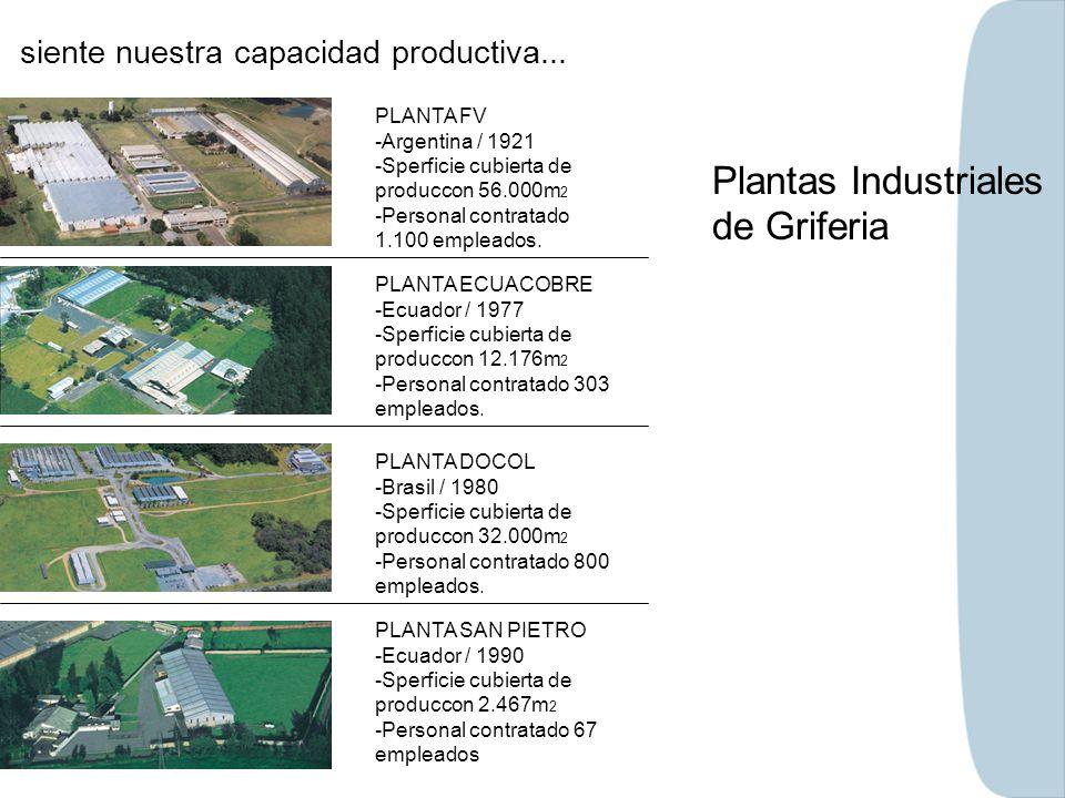 Plantas Industriales de Griferia
