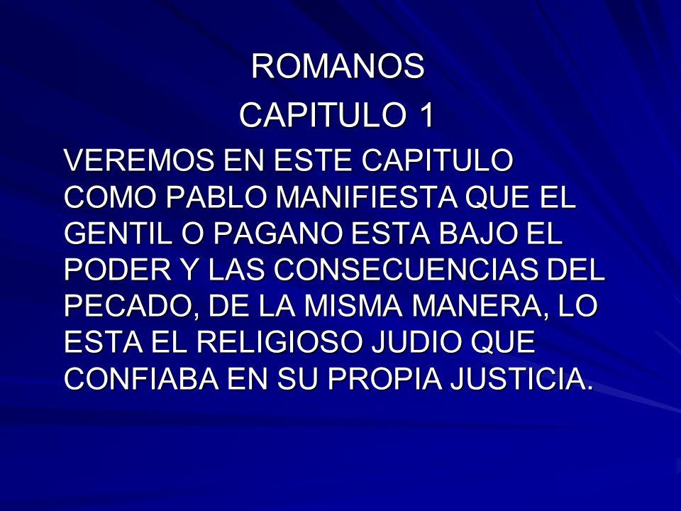 ROMANOS CAPITULO 1.