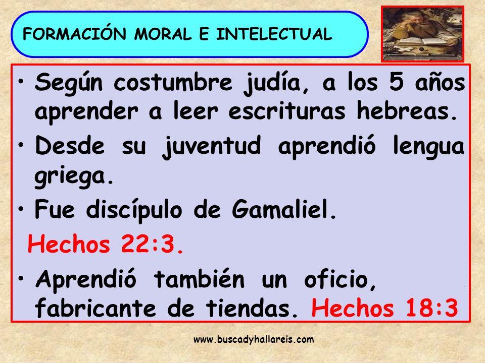 FORMACIÓN MORAL E INTELECTUAL