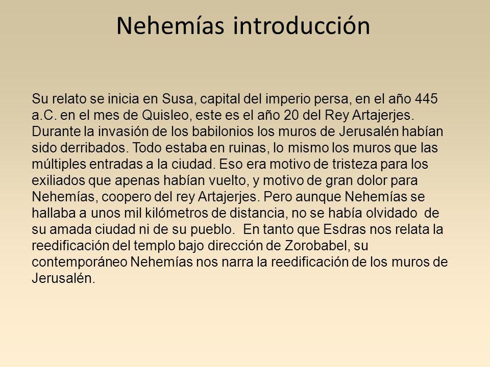 Nehemías introducción