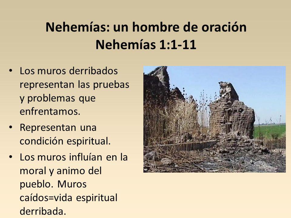Nehemías: un hombre de oración Nehemías 1:1-11