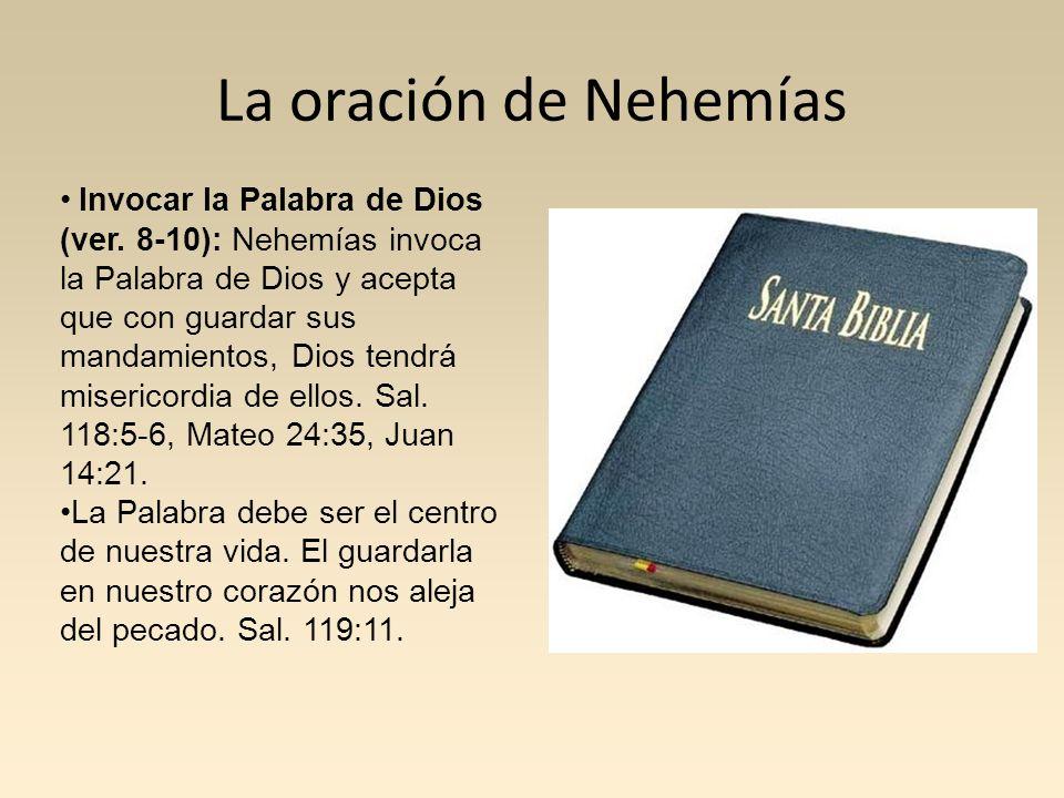 La oración de Nehemías
