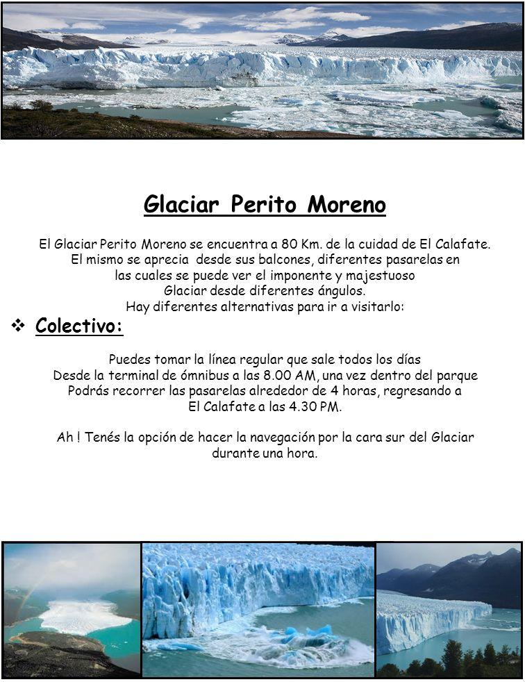 Glaciar Perito Moreno Colectivo: