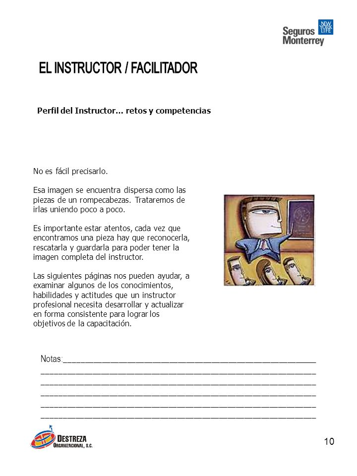 EL INSTRUCTOR / FACILITADOR