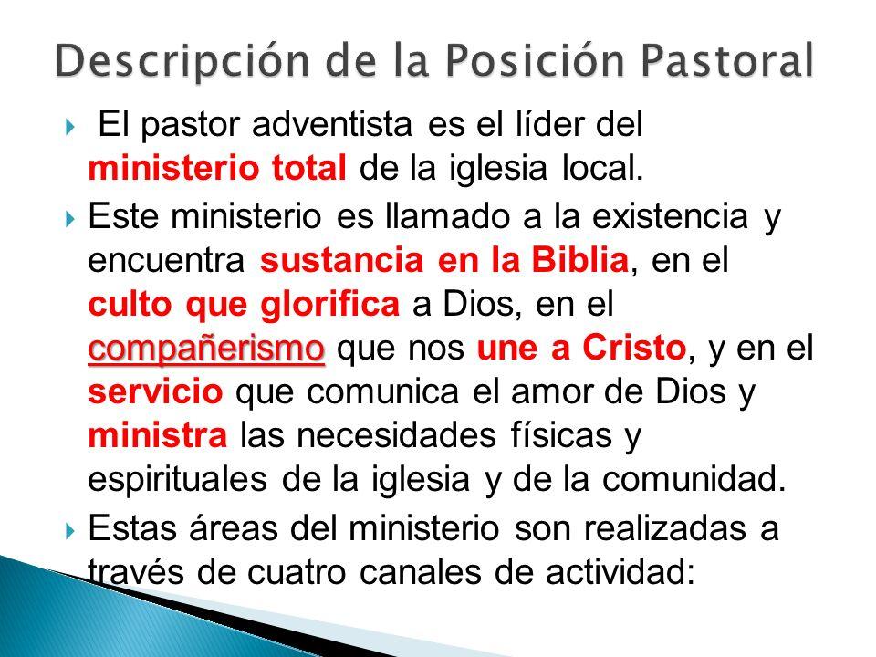 Descripción de la Posición Pastoral