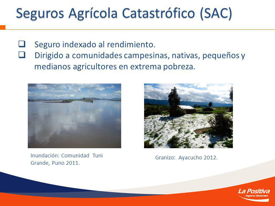Seguros Agrícola Catastrófico (SAC)