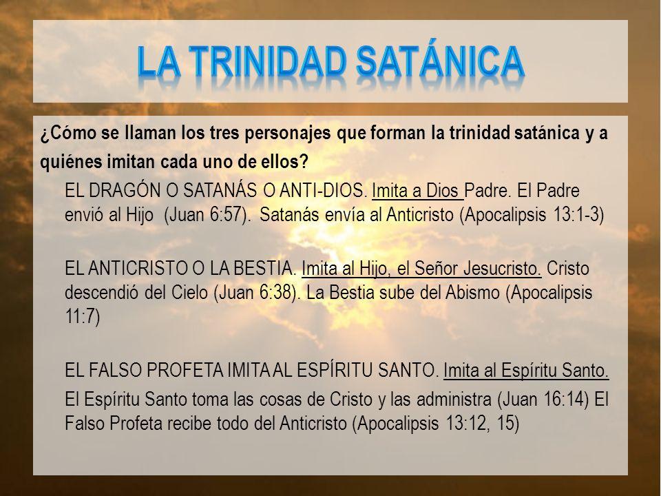 La trinidad satánica