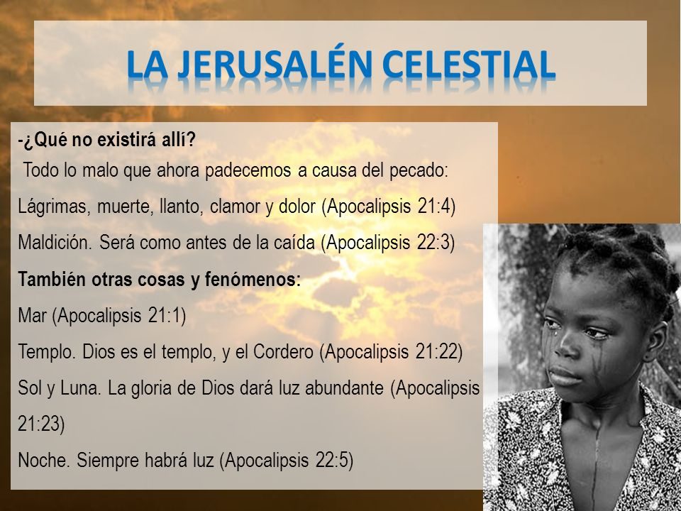 LA JERUSALÉN CELESTIAL