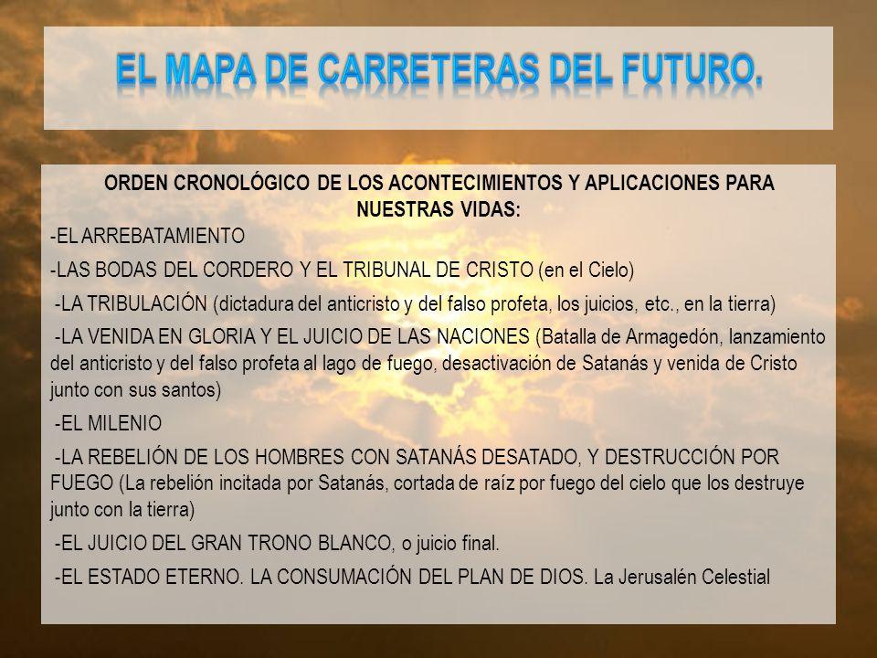EL MAPA DE CARRETERAS DEL FUTURO.