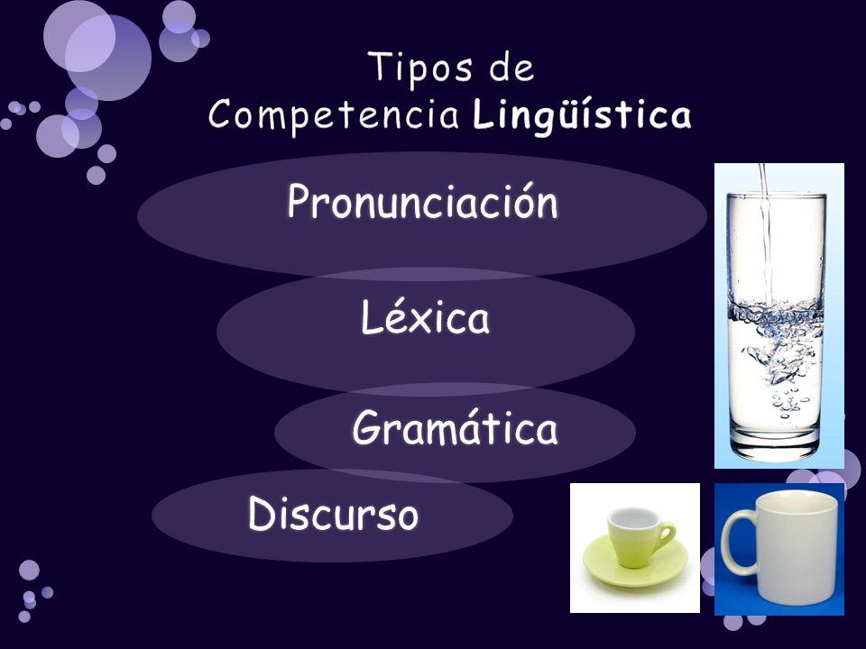 Tipos de Competencia Lingüística