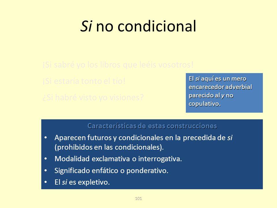 Características de estas construcciones