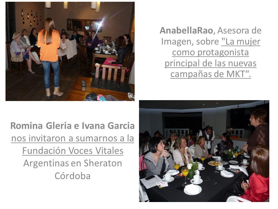 AnabellaRao, Asesora de Imagen, sobre La mujer como protagonista principal de las nuevas campañas de MKT .