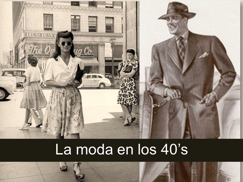 La moda en los 40's