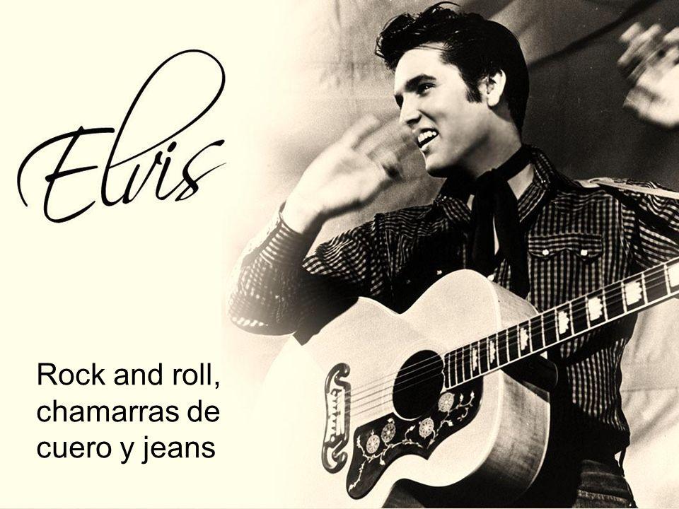 Rock and roll, chamarras de cuero y jeans