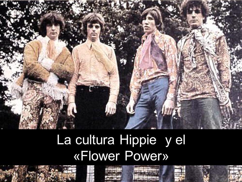 La cultura Hippie y el «Flower Power»