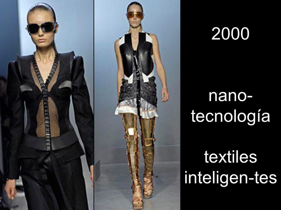 2000 nano-tecnología textiles inteligen-tes