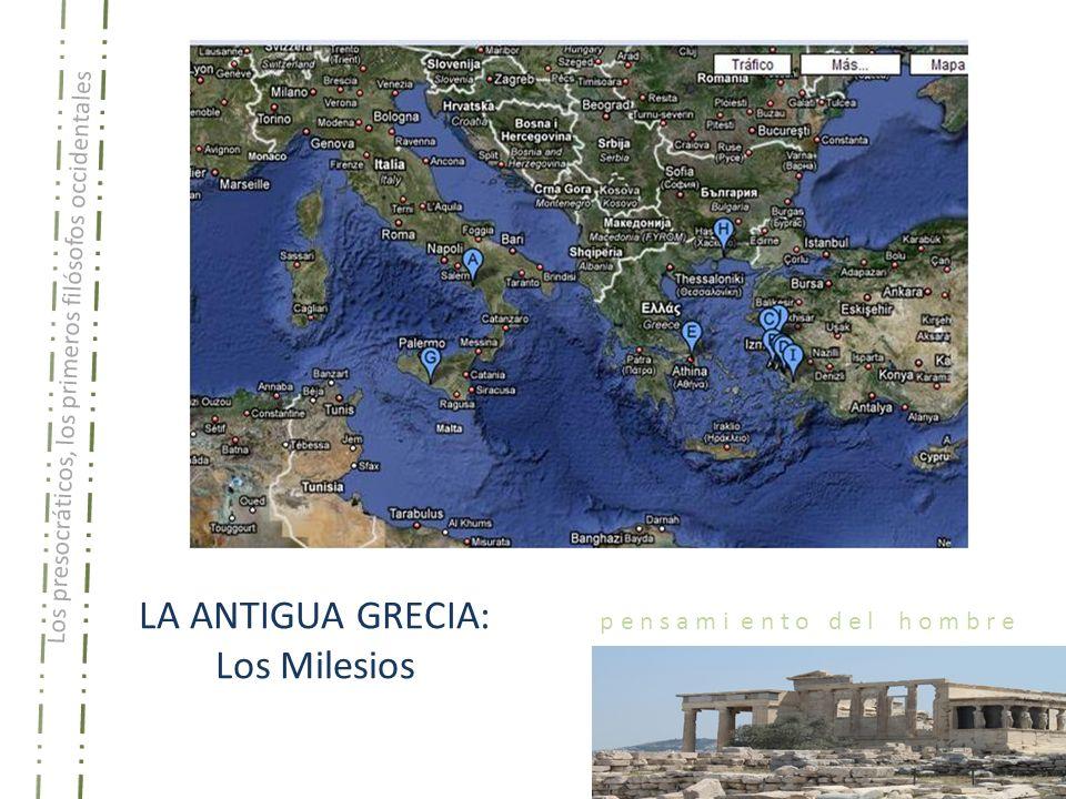 LA ANTIGUA GRECIA: Los Milesios