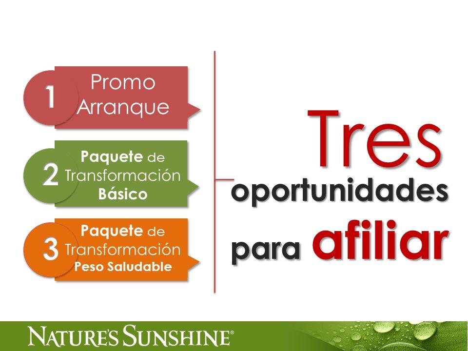 Tres 1 2 oportunidades para afiliar 3 Promo Arranque