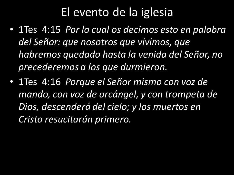El evento de la iglesia