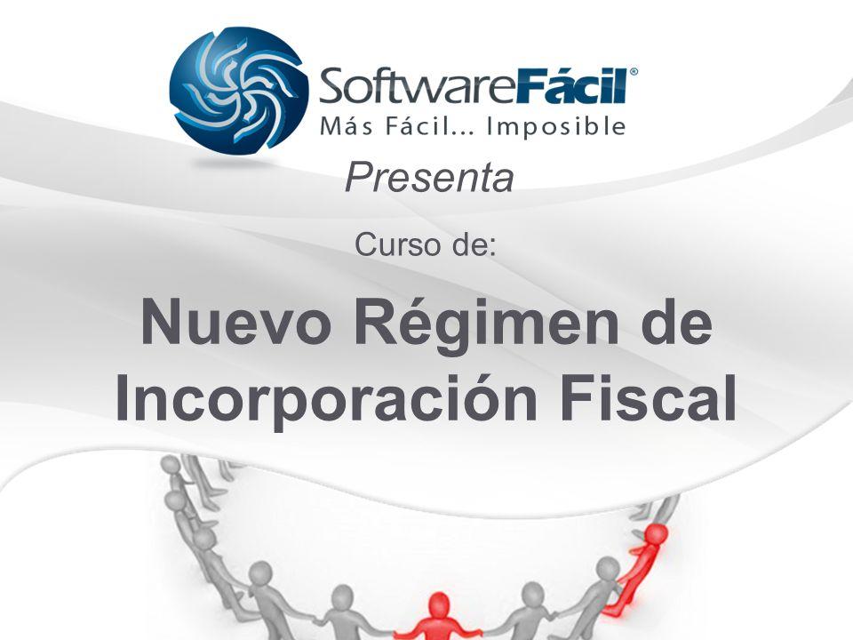 Nuevo Régimen de Incorporación Fiscal