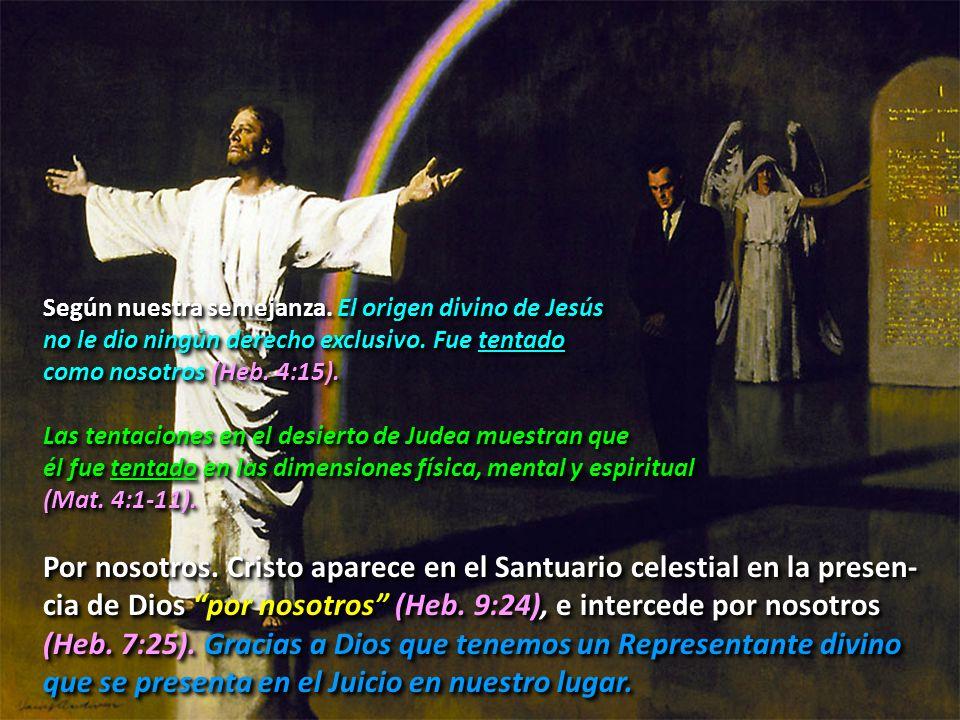 Según nuestra semejanza. El origen divino de Jesús