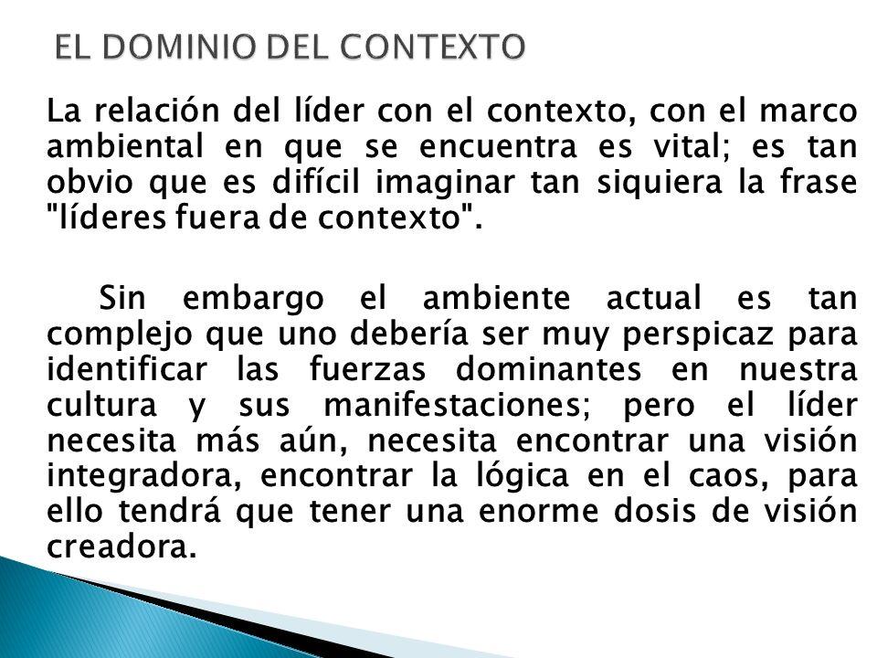 EL DOMINIO DEL CONTEXTO