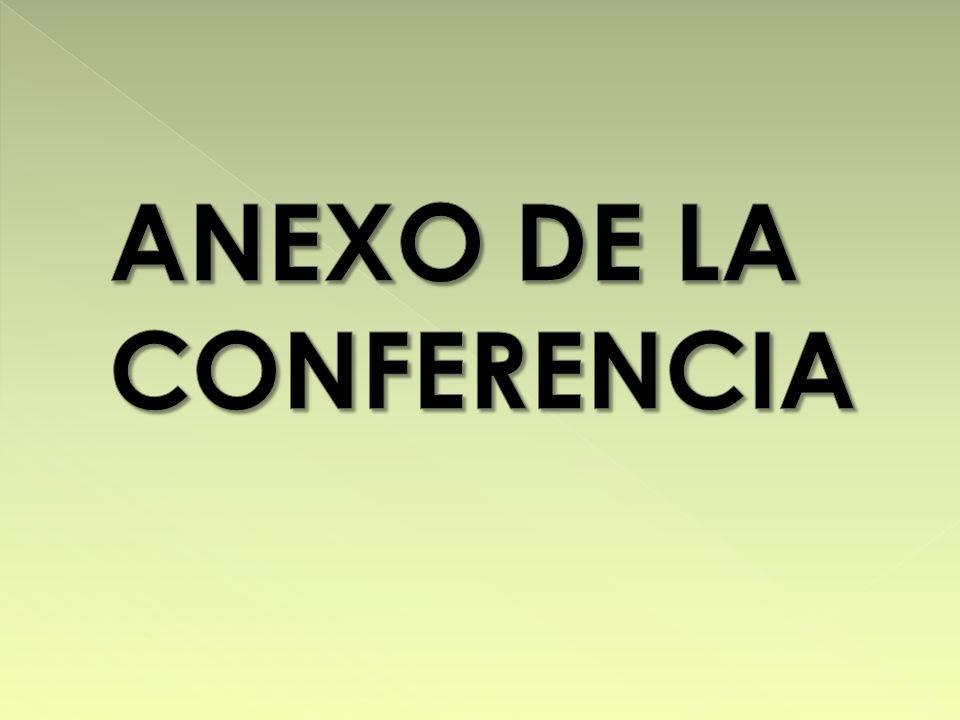 ANEXO DE LA CONFERENCIA