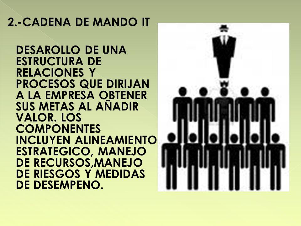 2.-CADENA DE MANDO IT