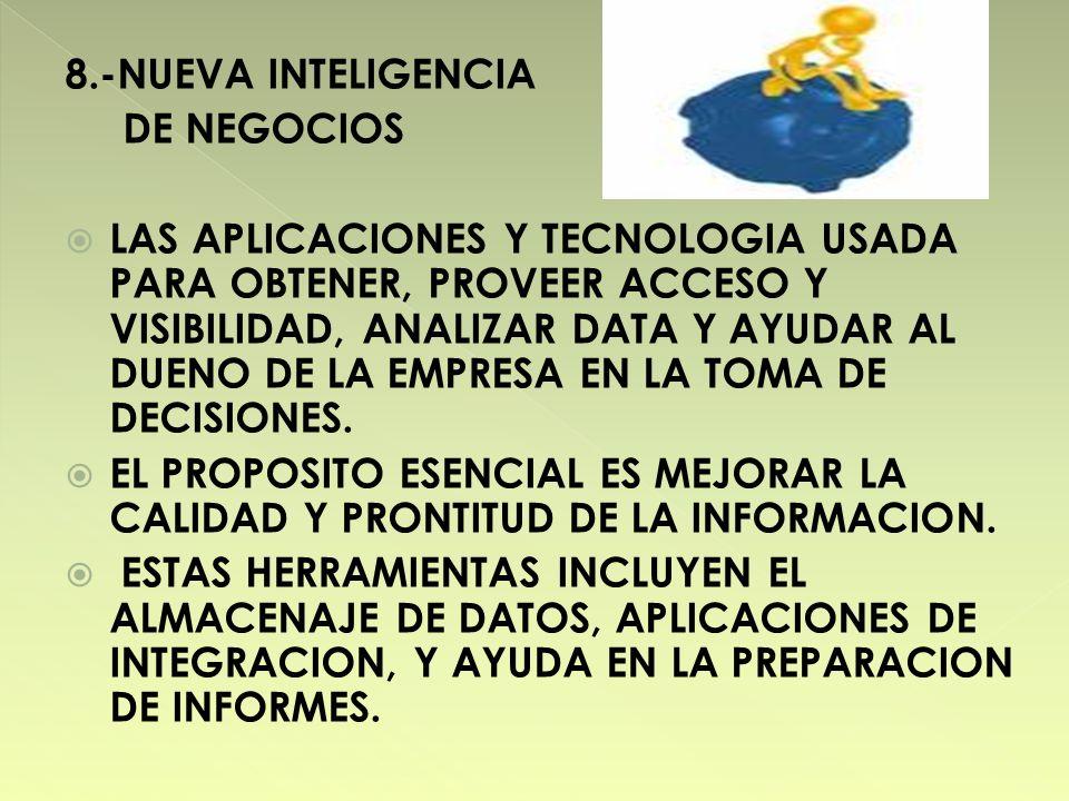 8.-NUEVA INTELIGENCIA DE NEGOCIOS.