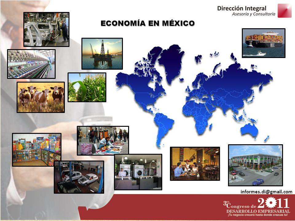ECONOMÍA EN MÉXICO informes.di@gmail.com