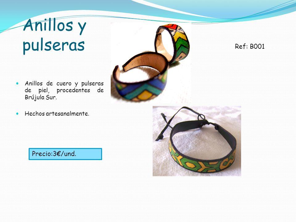 Anillos y pulseras Ref: B001 Precio:3€/und.