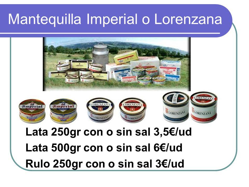 Mantequilla Imperial o Lorenzana