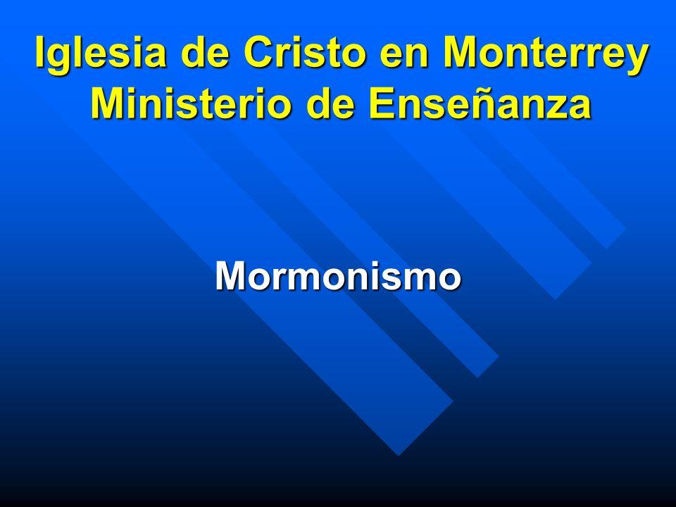 Iglesia de Cristo en Monterrey Ministerio de Enseñanza