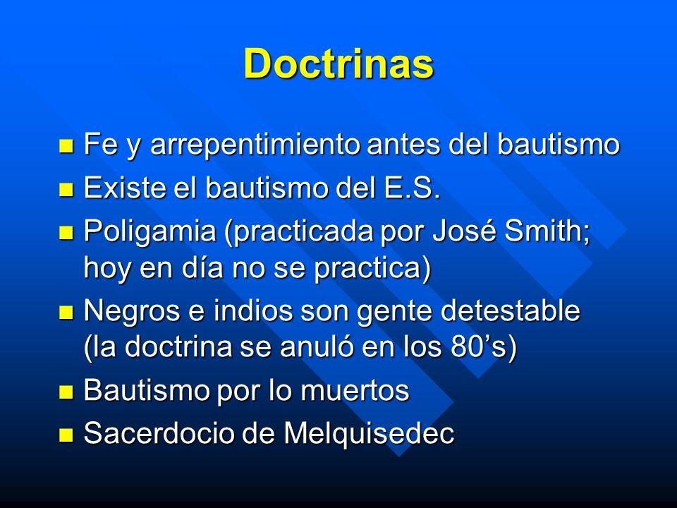 Doctrinas Fe y arrepentimiento antes del bautismo