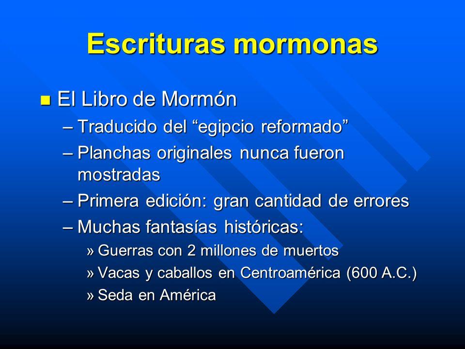 Escrituras mormonas El Libro de Mormón