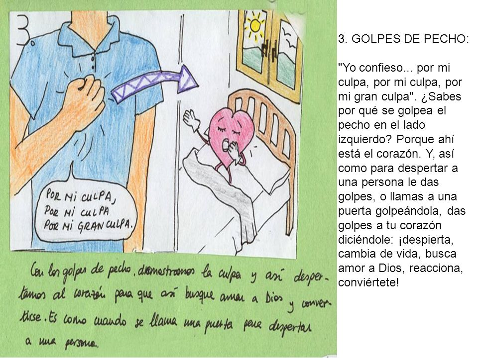 3. GOLPES DE PECHO:
