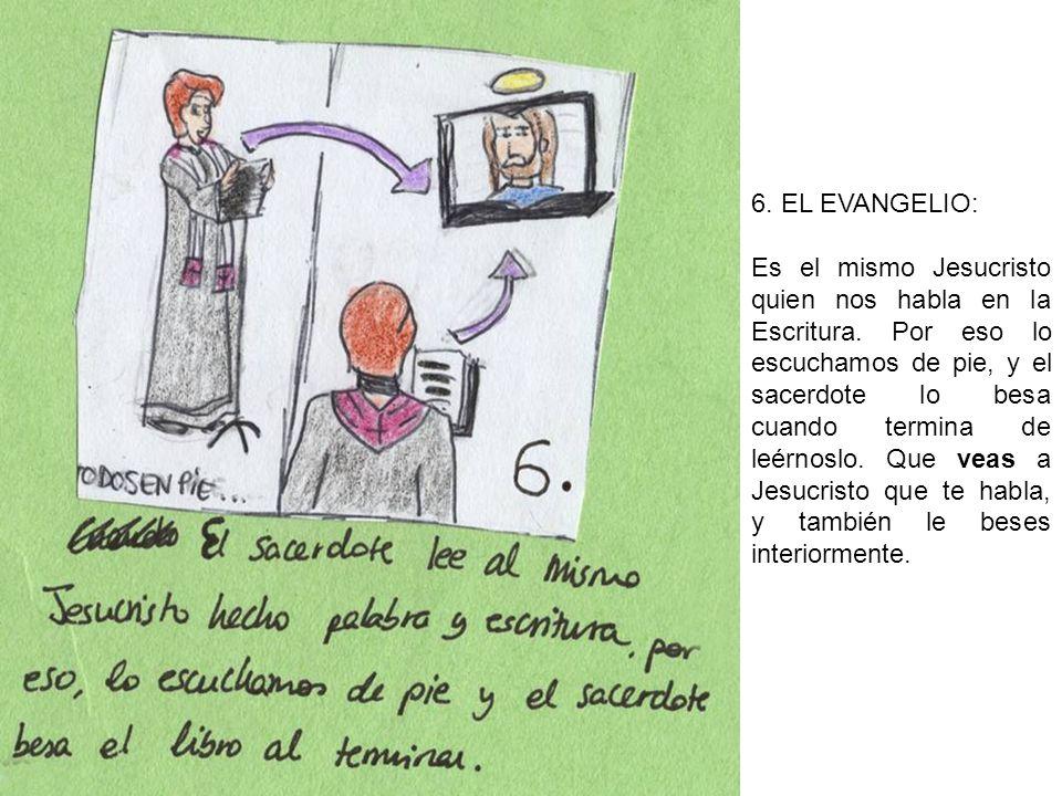 6. EL EVANGELIO: