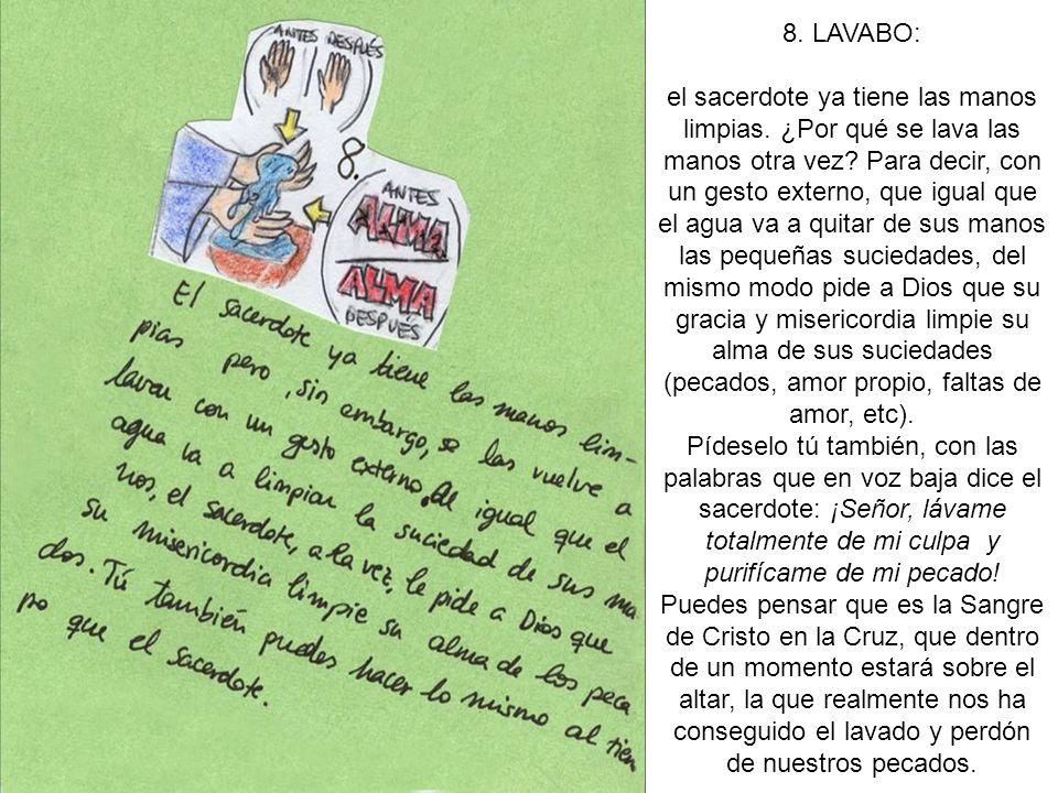 8. LAVABO: