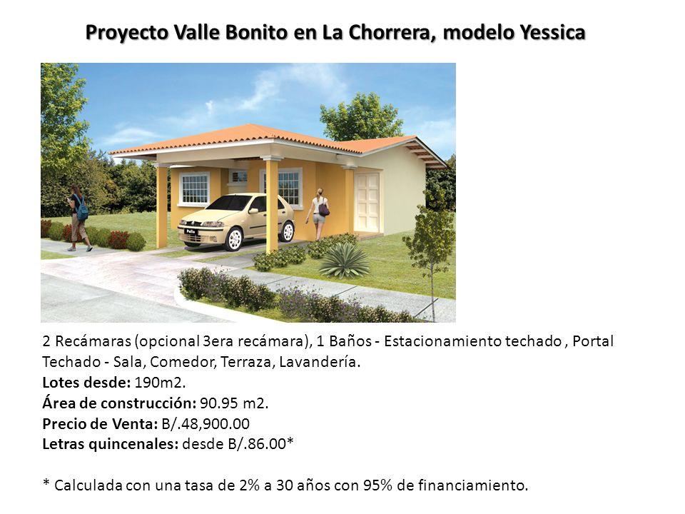 Proyecto valle bonito en la chorrera modelo almeida ppt video online descargar - Precio proyecto casa 120 m2 ...