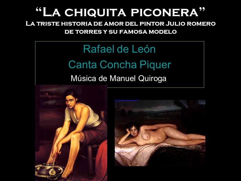 Rafael de León Canta Concha Piquer Música de Manuel Quiroga