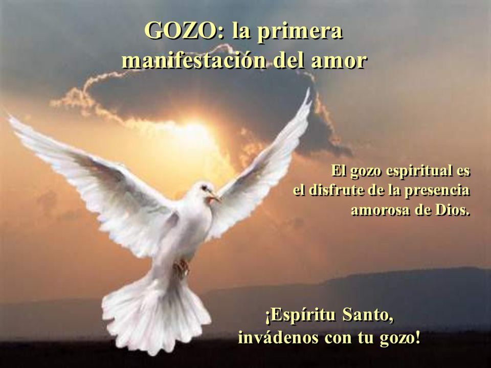 GOZO: la primera manifestación del amor