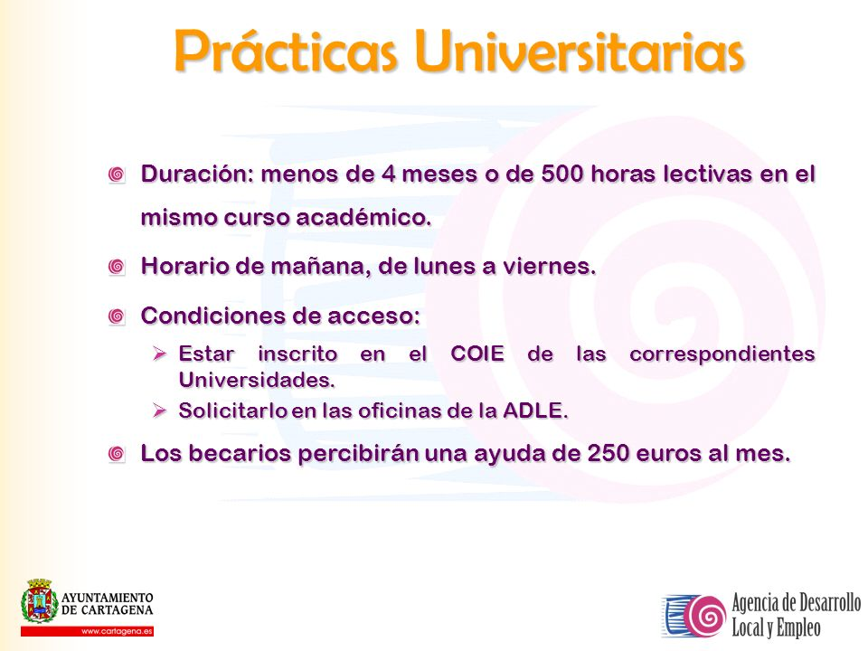 Prácticas Universitarias