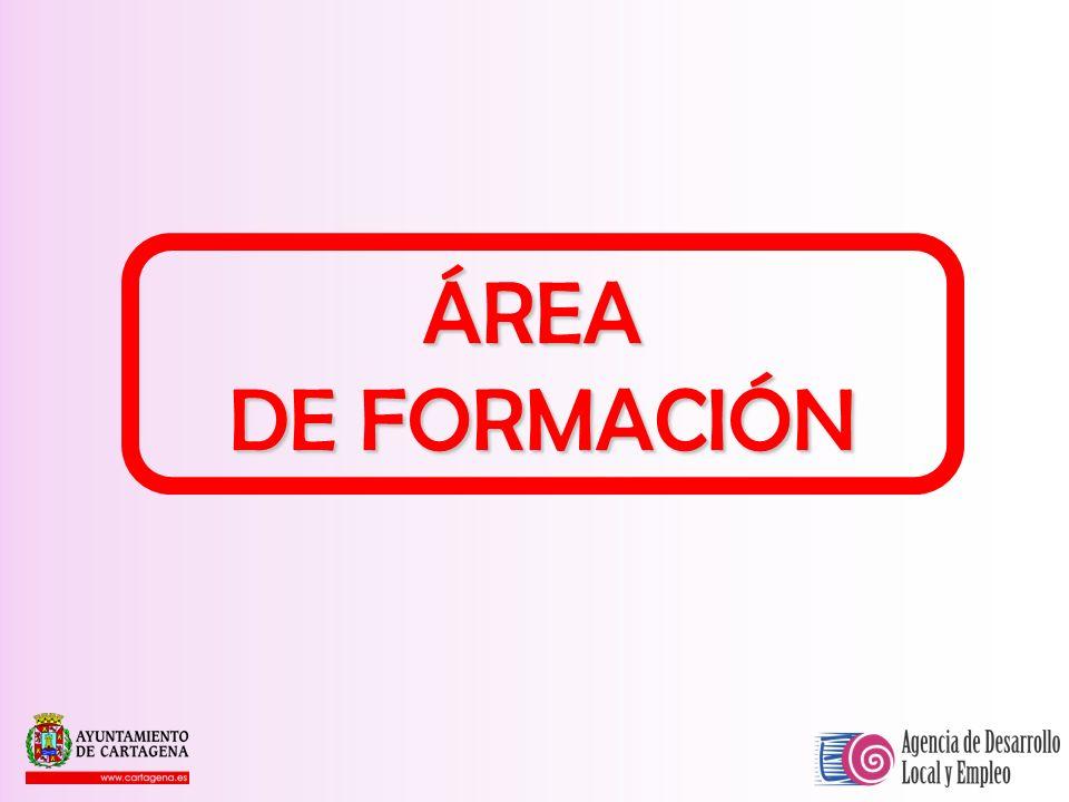 ÁREA DE FORMACIÓN